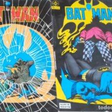 Cómics: BATMAN ZINCO NÚMEROS 16 Y 17 VOL 1 - 1984. Lote 193450392