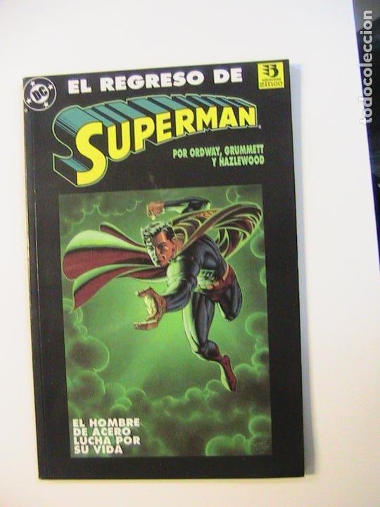 EL REGRESO DE SUPERMAN. ZINCO, 1993. (Tebeos y Comics - Zinco - Prestiges y Tomos)