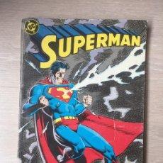 Cómics: SUPERMAN VOL.2 RETAPADO (Nº 37 AL 40), GEORGE PEREZ, JOHN BYRNE Y JERRY ORDWAY. Lote 193575888