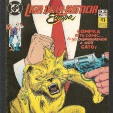 Comics: LIGA DE LA JUSTICIA EUROPA. Nº 22. DC / ZINCO. (ST/A12). Lote 193576688