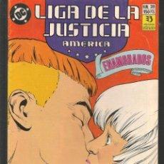 Cómics: LIGA DE LA JUSTICIA AMERICA. Nº 39. DC / ZINCO. (ST/A12). Lote 221438893