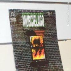 Cómics: BATMAN LEYENDAS DEL MURCIELAGO Nº 1 TERMINUS VOLUMEN ESPECIAL 68 PAGINAS - ZINCO. Lote 193635172