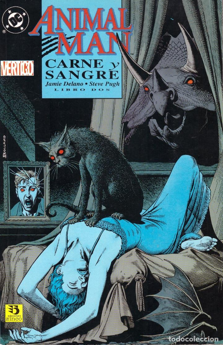 COMIC ANIMAL MAN: SANGRE Y CARNE, TOMO DOS - EDICIONES ZINCO (Tebeos y Comics - Zinco - Prestiges y Tomos)