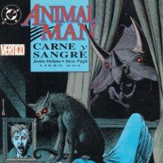Cómics: COMIC ANIMAL MAN: SANGRE Y CARNE, TOMO DOS - EDICIONES ZINCO. Lote 193717808