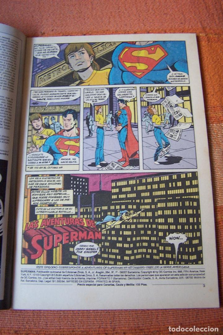 Cómics: SUPERMAN Nº 74. DC, EDICIONES ZINCO. - Foto 2 - 193810417