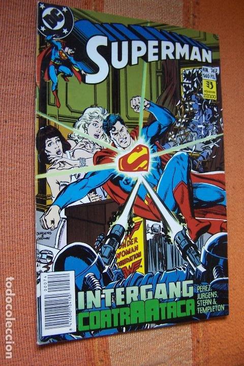 SUPERMAN Nº 74. DC, EDICIONES ZINCO. (Tebeos y Comics - Zinco - Superman)