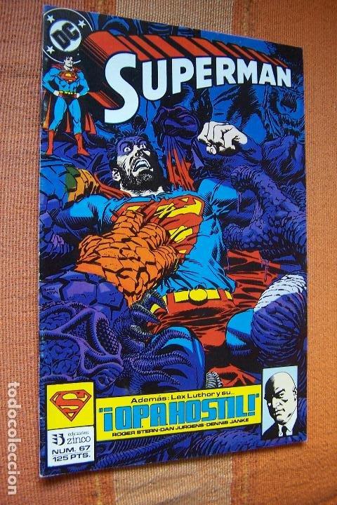 SUPERMAN Nº 67. DC, EDICIONES ZINCO. (Tebeos y Comics - Zinco - Superman)