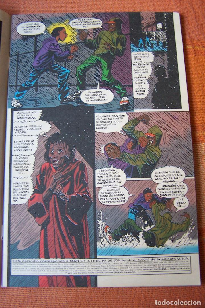 Cómics: SUPERMAN Nº 23. DC, EDICIONES ZINCO. - Foto 2 - 193810593