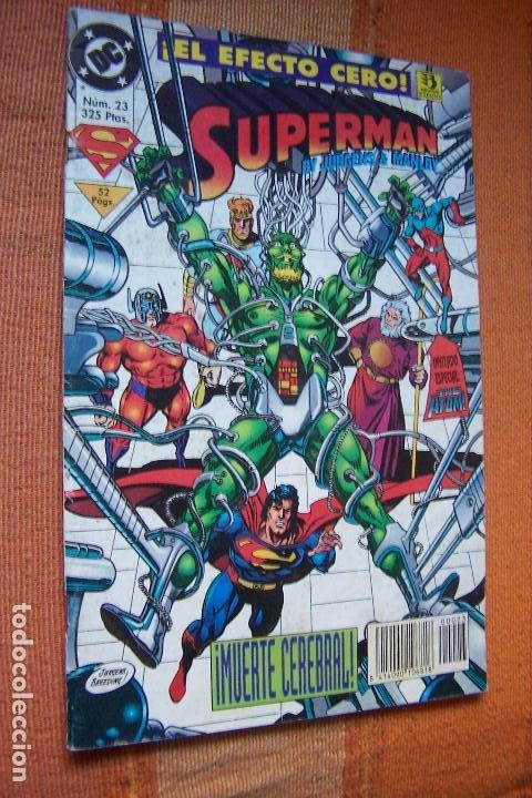 SUPERMAN Nº 23. DC, EDICIONES ZINCO. (Tebeos y Comics - Zinco - Superman)