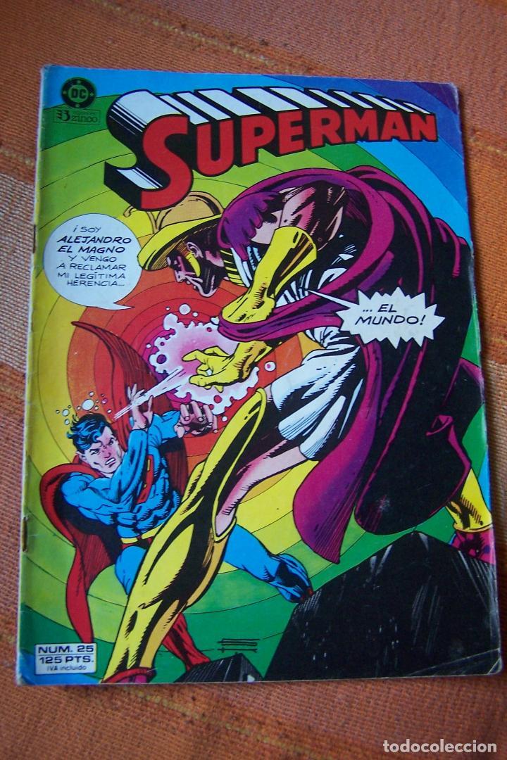 SUPERMAN Nº 25. DC, EDICIONES ZINCO. (Tebeos y Comics - Zinco - Superman)