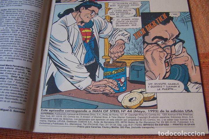 Cómics: SUPERMAN Nº 33. DC, EDICIONES ZINCO. - Foto 2 - 193811421