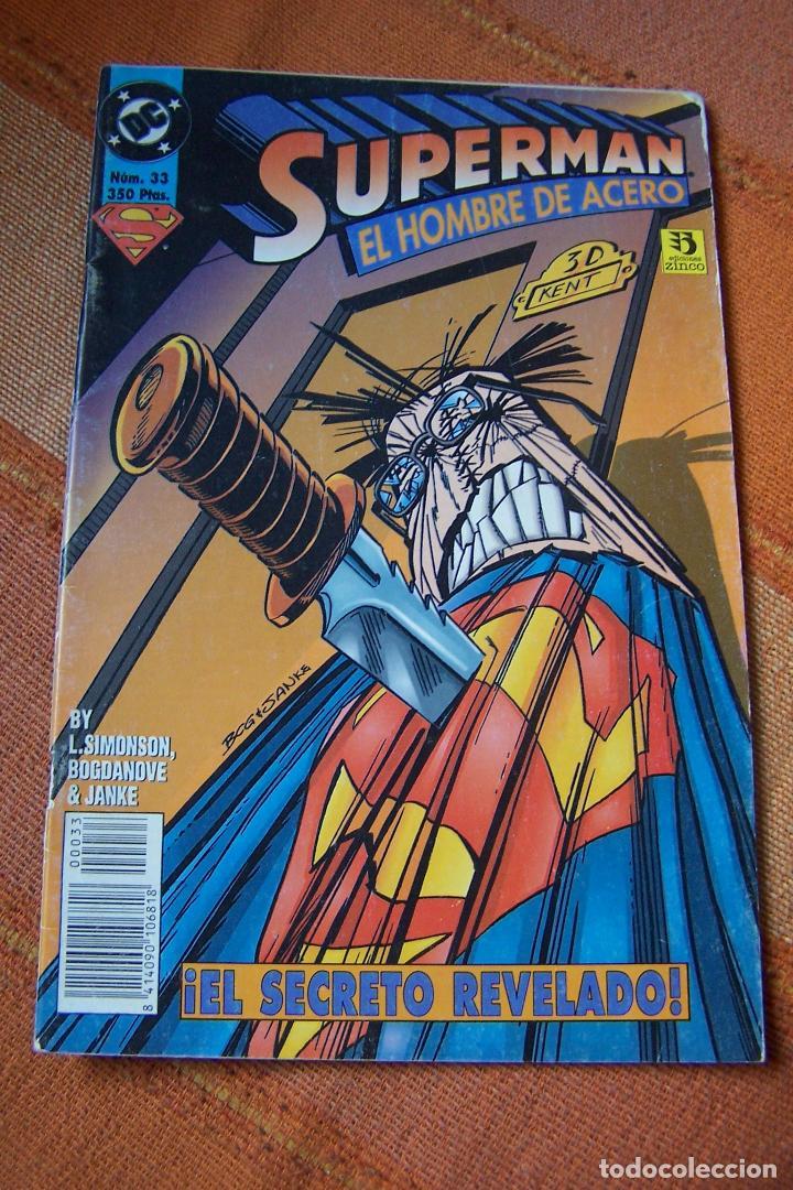 SUPERMAN Nº 33. DC, EDICIONES ZINCO. (Tebeos y Comics - Zinco - Superman)