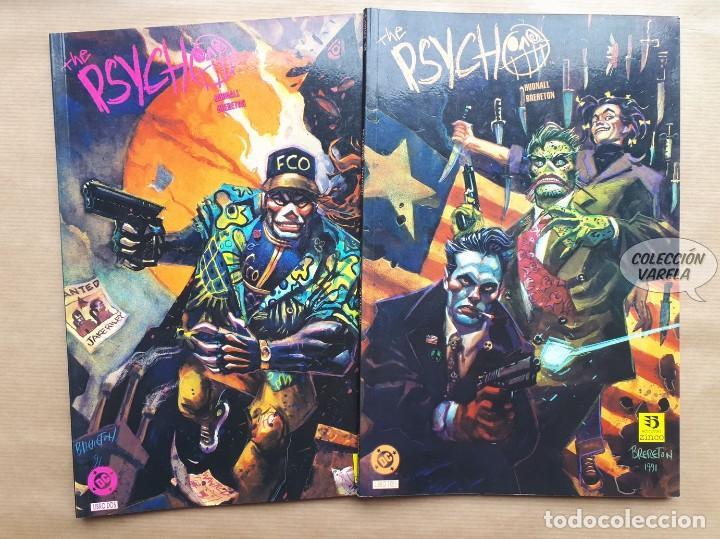 THE PSYCHO 2 Y 3 - HUDNALL Y BRERETON - ZINCO - JMV (Tebeos y Comics - Zinco - Prestiges y Tomos)