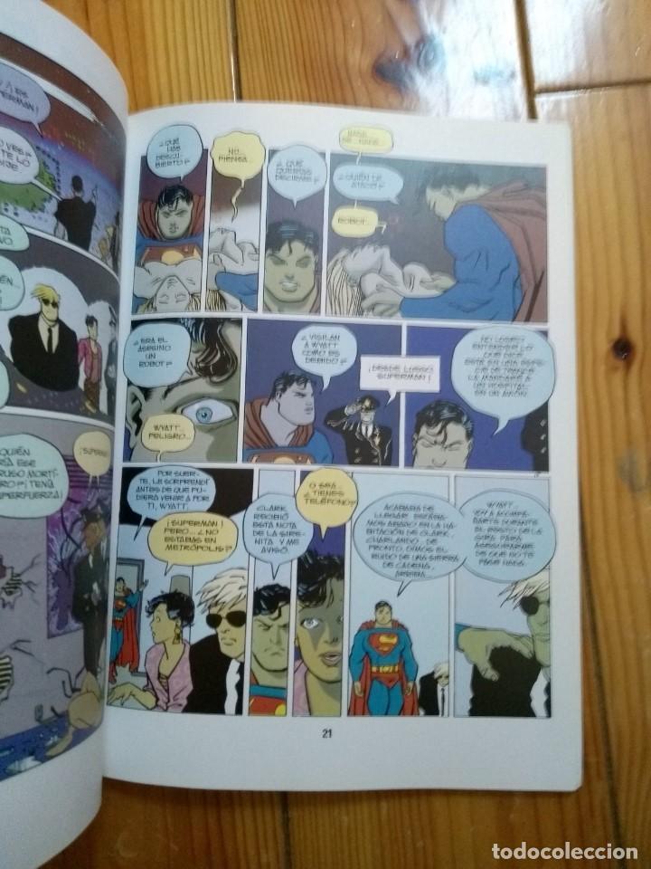Cómics: Superman y La Bomba de la Paz - Teddy Kristiansen & Niels Sondergaard - Foto 4 - 193832217