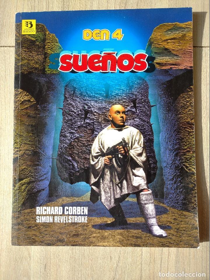 DEN 4-SUEÑOS-RICHARD CORBEN-EDICIONES ZINCO (Tebeos y Comics - Zinco - Otros)