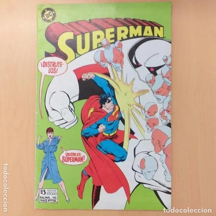 SUPERMAN. EDICIONES ZINCO DC NUM 16 (Tebeos y Comics - Zinco - Superman)