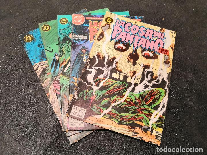 LOTE 5 COMICS LA COSA DEL PANTANO - ZINCO (Tebeos y Comics - Zinco - Cosa del Pantano)