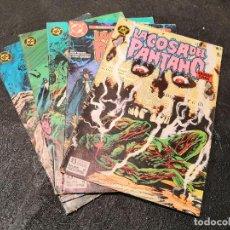Cómics: LOTE 5 COMICS LA COSA DEL PANTANO - ZINCO. Lote 194086503