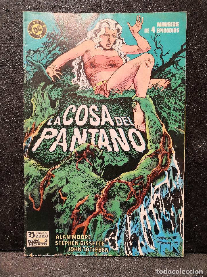 Cómics: LOTE 5 COMICS LA COSA DEL PANTANO - ZINCO - Foto 4 - 194086503