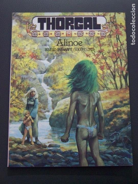 THORGAL ALINOE (Tebeos y Comics - Zinco - Prestiges y Tomos)
