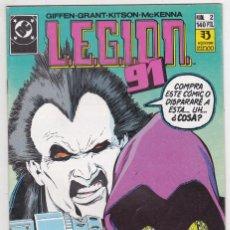 Cómics: LEGION 91. Nº 2. EDICIONES ZINCO. Lote 194167038