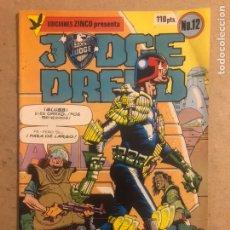 Cómics: JUDGE DREDD N° 12 (EDICIONES ZINCO 1984).. Lote 194247462