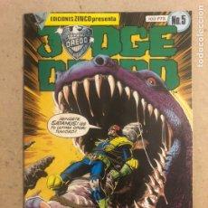 Cómics: JUDGE DREDD N° 5 (EDICIONES ZINCO 1984).. Lote 194247543