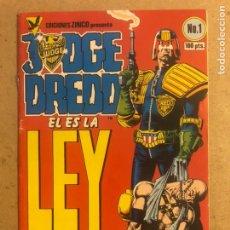 Cómics: JUDGE DREED N° 1 (EDICIONES ZINCO 1984).. Lote 194249211