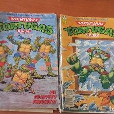 Cómics: AVENTURAS TORTUGAS NINJA EDICIONES ZINCO LOTE DE 30 Nº.. Lote 194269215