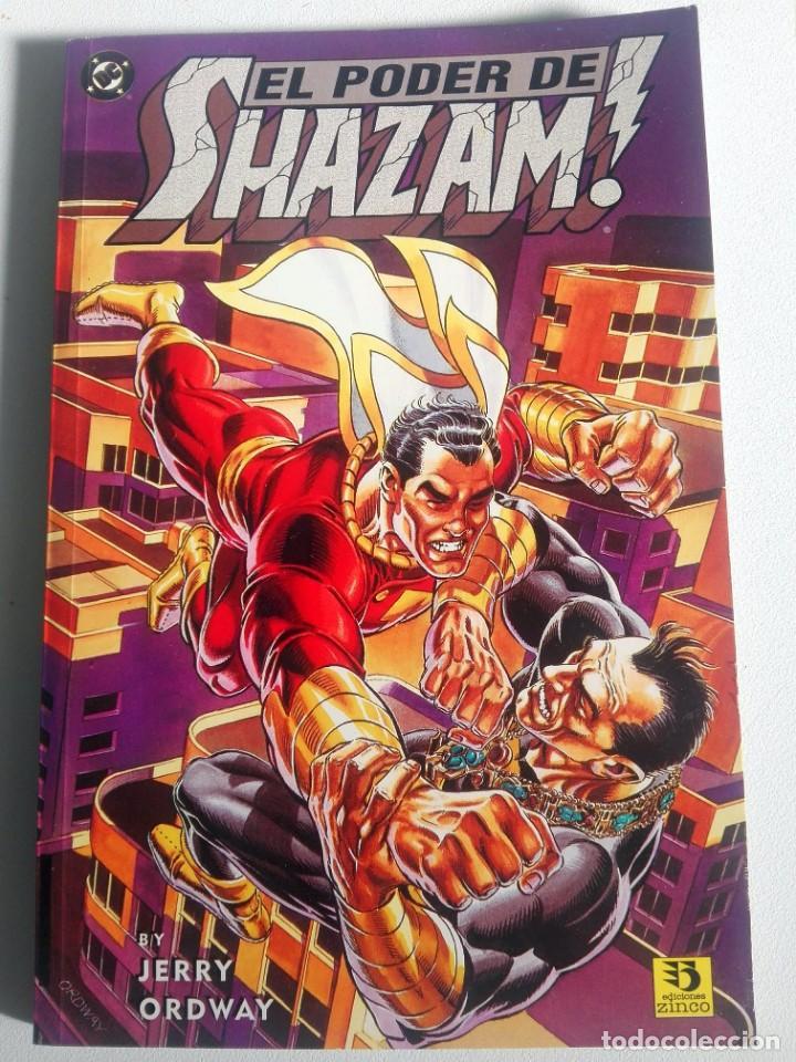 EL PODER DE SHAZAM! (JERRY ORDWAY) - NOVELA GRÁFICA ED. ZINCO 1995 (Tebeos y Comics - Zinco - Prestiges y Tomos)