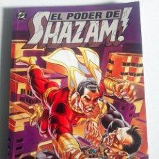 Cómics: EL PODER DE SHAZAM! (JERRY ORDWAY) - NOVELA GRÁFICA ED. ZINCO 1995. Lote 194273652