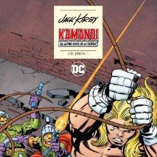 Cómics: KAMANDI EL ÚLTIMO CHICO DE LA TIERRA DE JACK KIRBY 1 Y 2 COMPLETA - ECC / DC TAPA DURA. Lote 194344667