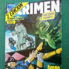 Cómics: LC 195 - CRIMEN 2ª EDICIÓN Nº 40 - ZINCO - BUENO. Lote 194357675