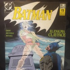 Cómics: BATMAN : EL ENIGMA CLAYFACE N.2 . ( 1990 ).. Lote 194395337