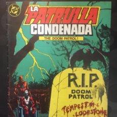 Cómics: LA PATRULLA CONDENADA THE DOOM PATROL N.5 . ( 1988 ).. Lote 194396588