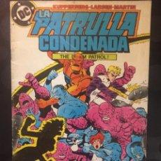 Cómics: LA PATRULLA CONDENADA THE DOOM PATROL N.9 . ( 1988 ).. Lote 194396843