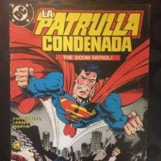 Cómics: LA PATRULLA CONDENADA THE DOOM PATROL N.10 . ( 1988 ).. Lote 194397171