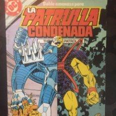 Cómics: LA PATRULLA CONDENADA THE DOOM PATROL N.11 . ( 1988 ).. Lote 194397558