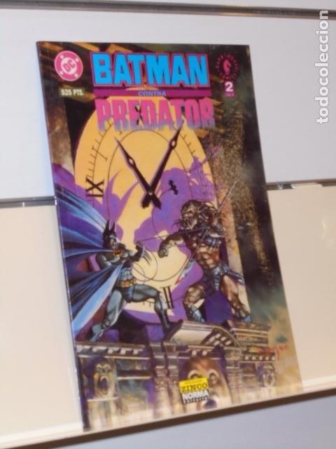 BATMAN CONTRA PREDATOR Nº 2 DE 3 DARK HORSE - ZINCO NORMA - (Tebeos y Comics - Zinco - Batman)