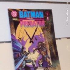 Cómics: BATMAN CONTRA PREDATOR Nº 2 DE 3 DARK HORSE - ZINCO NORMA -. Lote 194512382