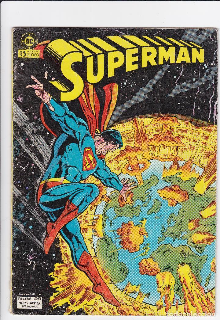 SUPERMAN. EDITORIAL ZINCO. VOL 1. NÚMERO 29. AÑO 1984. (Tebeos y Comics - Zinco - Superman)