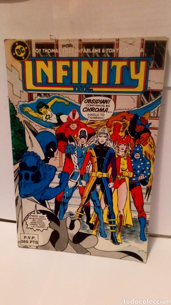 CÓMIC INFINITY N°7 DE EDICIONES ZINCO DC ( MÁS 5 EUROS GASTOS DE ENVÍO) (Tebeos y Comics - Zinco - Infinity Inc)