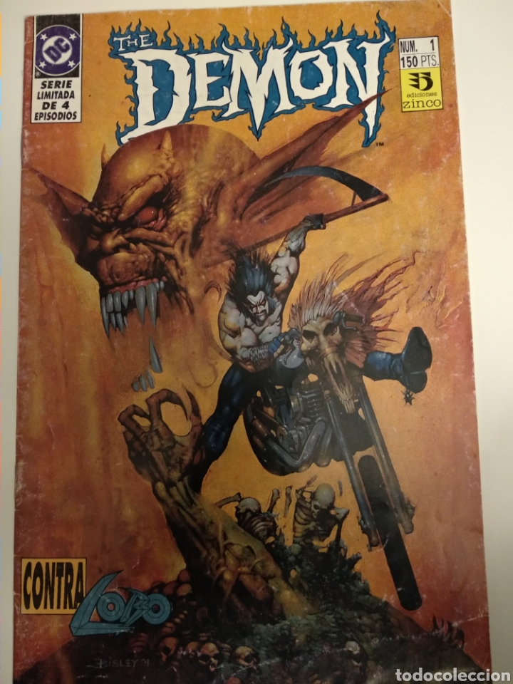 Cómics: Comic. The Demon vs Lobo. Colección 1 al 4. DC Comics - Foto 2 - 194636876