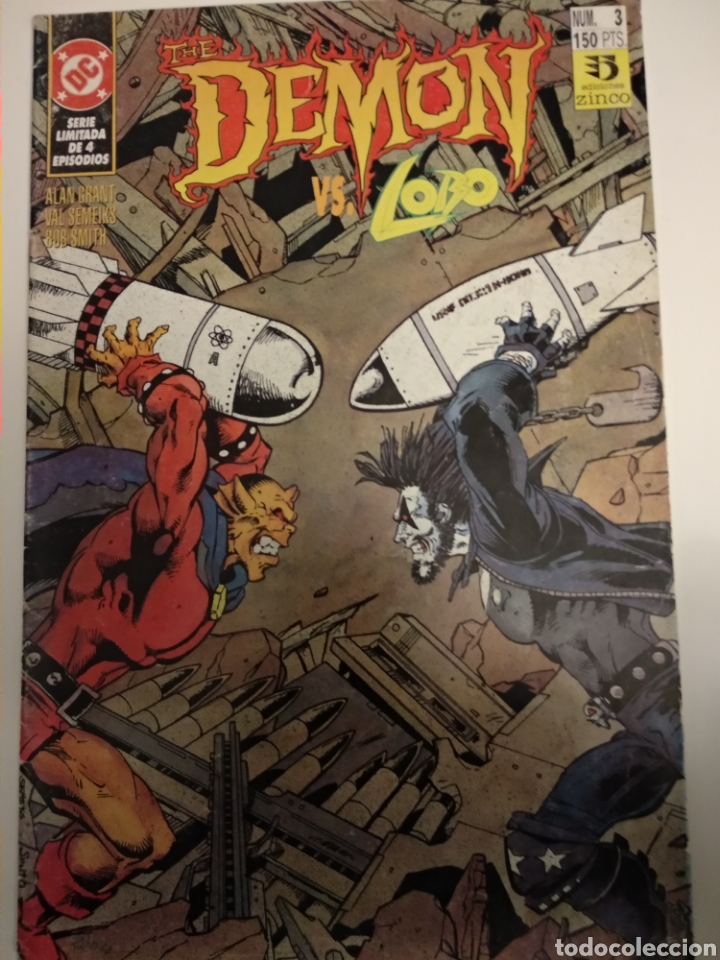 Cómics: Comic. The Demon vs Lobo. Colección 1 al 4. DC Comics - Foto 3 - 194636876