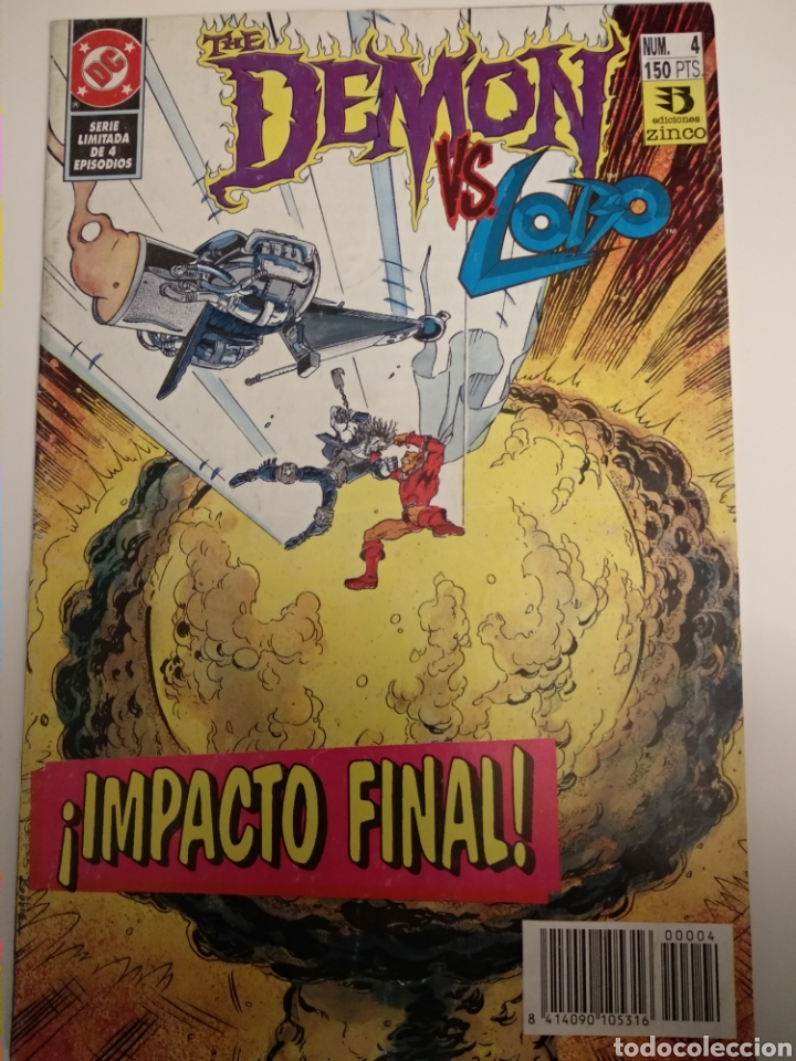 Cómics: Comic. The Demon vs Lobo. Colección 1 al 4. DC Comics - Foto 4 - 194636876