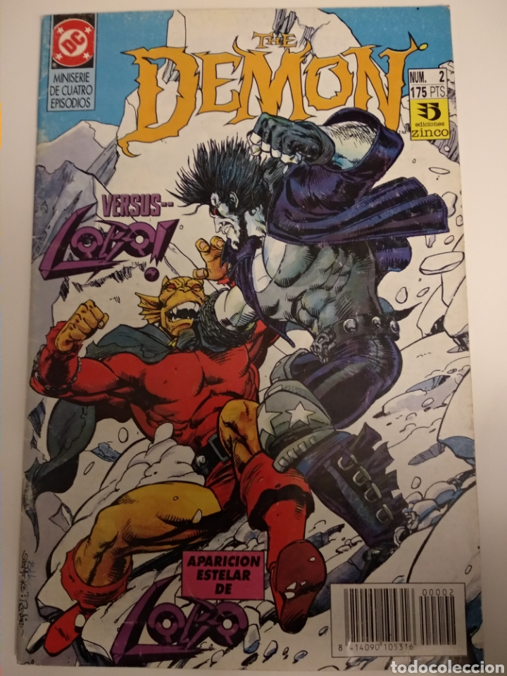 COMIC. THE DEMON VS LOBO. COLECCIÓN 1 AL 4. DC COMICS (Tebeos y Comics - Zinco - Lobo)