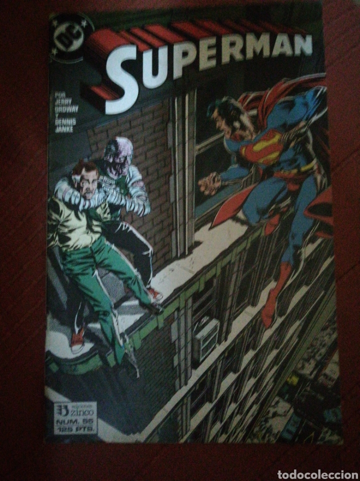 SUPERMAN 55 (Tebeos y Comics - Zinco - Superman)
