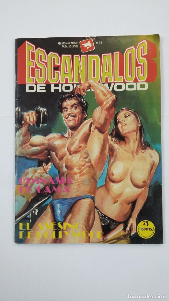 ESCANDALOS DE HOLLYWOOD.- EL ASESINO DE HOLLYWOOD - Nº 12 COMIC EROTICO EDICIONES ZINCO. TDKC48 (Tebeos y Comics - Zinco - Otros)
