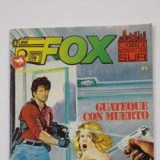 Cómics: FOX Nº 8. EL HOMBRE DE MANHATTAN SUR. RELATOS GRAFICOS PARA ADULTOS. EDICIONES ZINCO. TDKC48. Lote 194873925