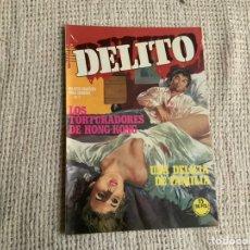 Cómics: DELITO Nº 7 RELATOS GRAFICOS PARA ADULTOS -ED. ZINCO. Lote 194875765